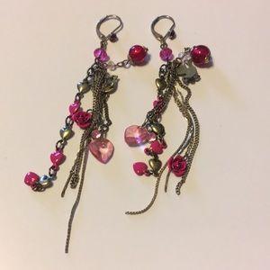 Betsey Johnson Bird Earrings